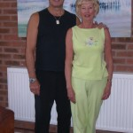 Robin Gargrave of YMCAFit with Marie