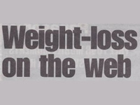 Weight loss on the web