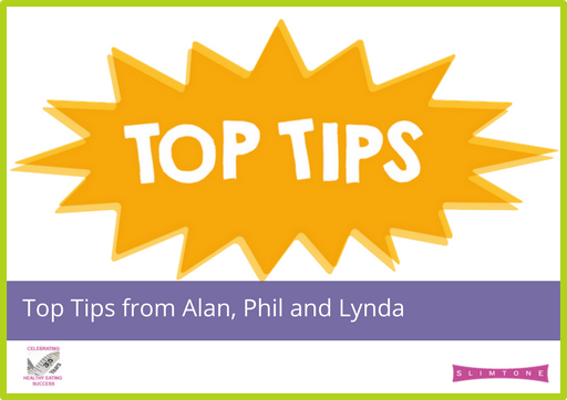 Top Tips from Alan, Phil and Lynda
