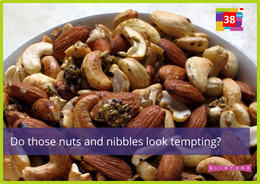 Do those nuts and nibbles look tempting?