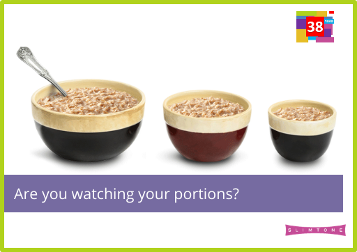 Are you watching your portions?
