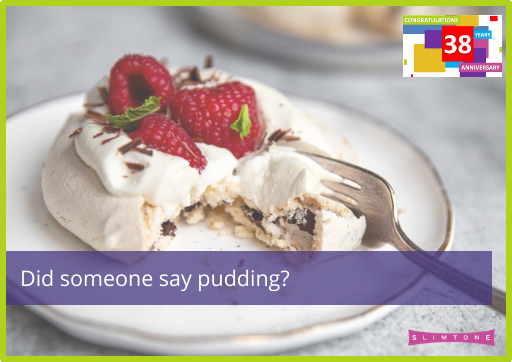Did someone say pudding?
