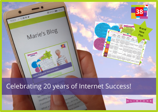 Celebrating 20 Years of Online Slimming Success