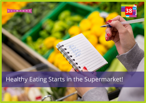 Remember, Healthy Eating Starts in the Supermarket!