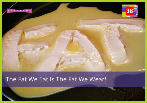 The Fat We Eat Is The Fat We Wear!