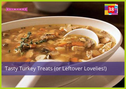Tasty Turkey Treats – Slimtone Leftover Lovelies!
