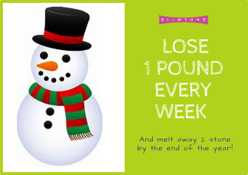Lose a pound a week – and you'll soon achieve success!