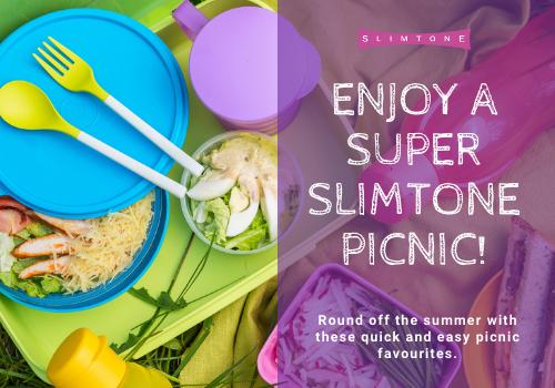 Enjoy a super Slimtone picnic!